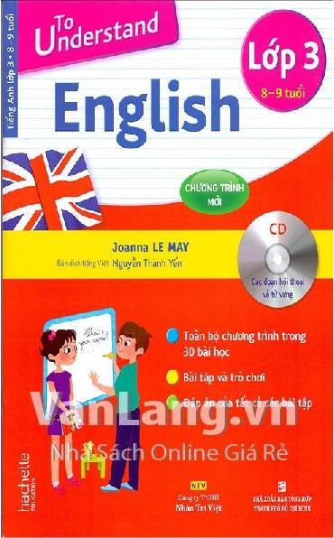To understand English lớp 3 (Kèm CD)