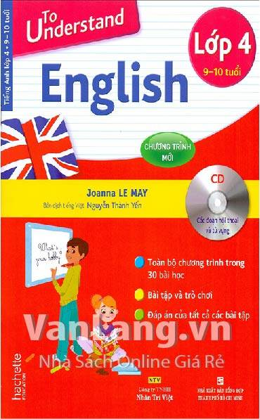 To understand English lớp 4 (Kèm CD)