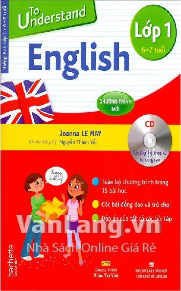 To understand English lớp 1 (Kèm CD)