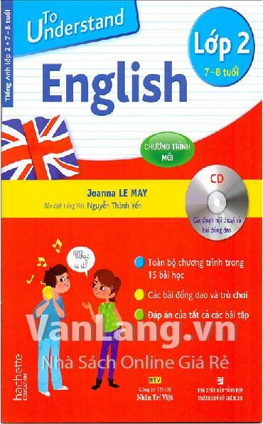 To understand English lớp 2 (Kèm CD)