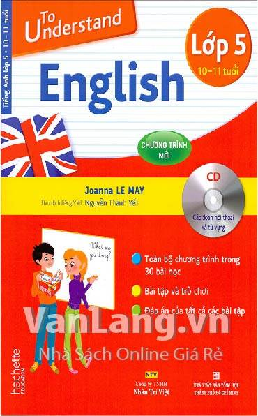 To understand English lớp 5 (Kèm CD)