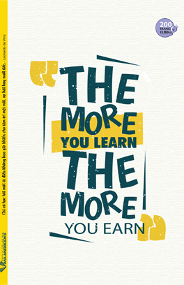 Tập SV 200 Trang - The More You Learn The More You Earn
